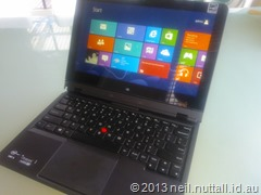Quick review: Lenovo ThinkPad Helix (1/3)